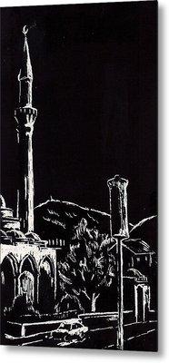 Ferhat-pasha Mosque  Metal Print by Ramo Sabanovic