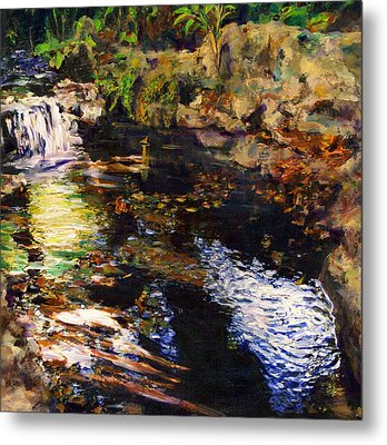 Ferndale Creek Metal Print