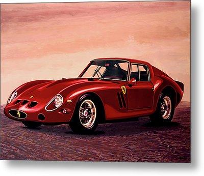 Ferrari 250 Gto 1962 Painting Metal Print by Paul Meijering