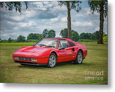 Metal Print featuring the photograph Ferrari 328 Gts by Adrian Evans