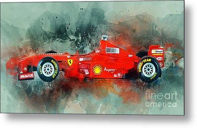 Ferrari F1 Metal Print