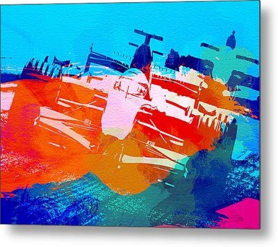 Ferrari F1 Racing Metal Print