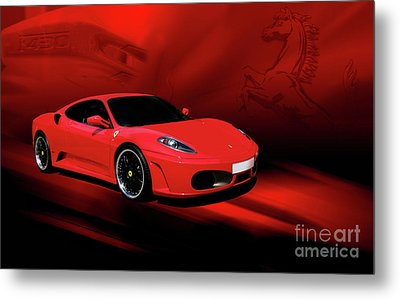 Ferrari F430 Metal Print by Joel Witmeyer