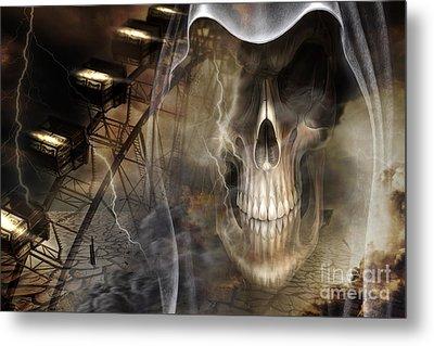 Ferris Metal Print by Nichola Denny