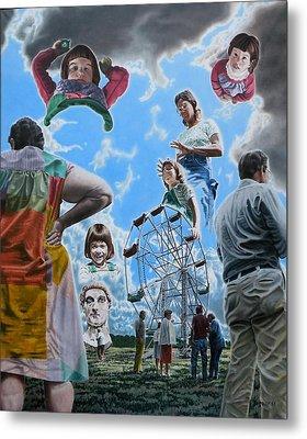 Ferris Wheel Metal Print by Dave Martsolf