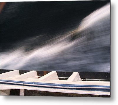 Metal Print featuring the photograph Ferry Wash by Mark Alan Perry