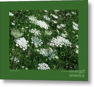 Field Bouquet-iv Metal Print by Patricia Overmoyer