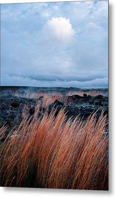 Fields Of Fire Metal Print by Gary Cloud