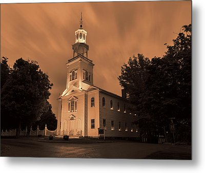 Fierce Grace - First Church Bennington Metal Print