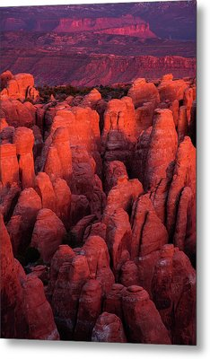 Metal Print featuring the photograph Fiery Furnace by Dustin LeFevre