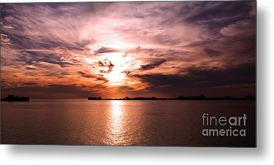 Fiery Tranquility  Metal Print