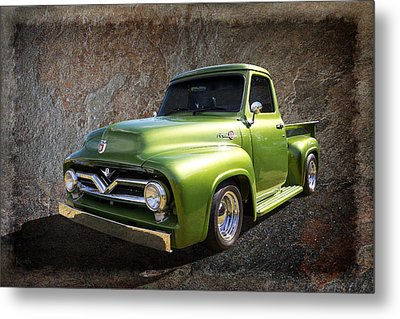 Fifties Pickup Metal Print