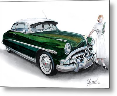 Fifty-one Hudson Metal Print by Ferrel Cordle