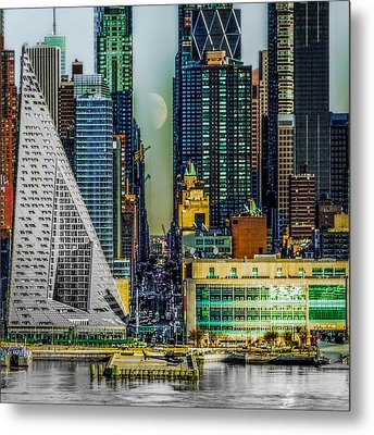 Fifty-seventh Street Fantasy Metal Print by Chris Lord