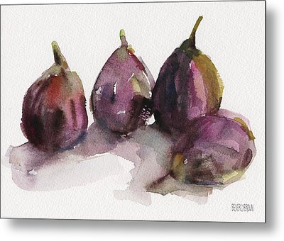Fig Season Metal Print by Beverly Brown