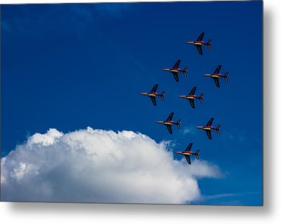Fighter Jet Metal Print by Martin Newman