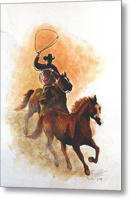 Fighting For Freedom Metal Print by Jimmy Smith