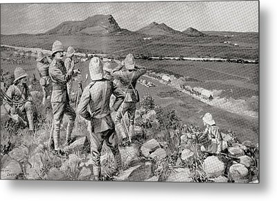 Fighting Mac And The Highland Brigade Metal Print by Vintage Design Pics