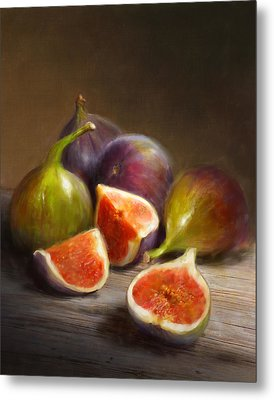 Figs Metal Print by Robert Papp