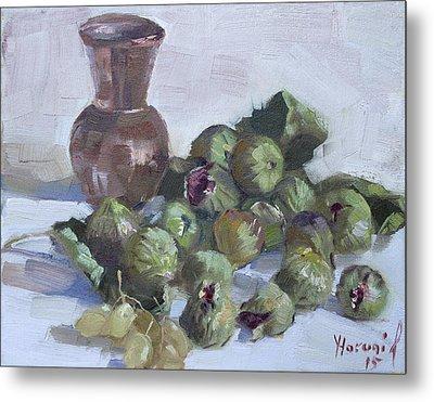 Figs Metal Print by Ylli Haruni