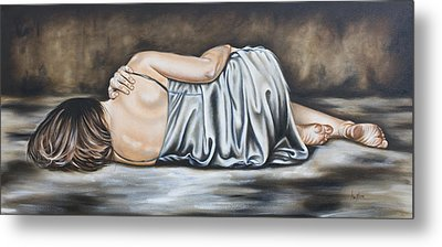 Figure Hundred And Fifteen Of Seven  Metal Print by Ilse Kleyn