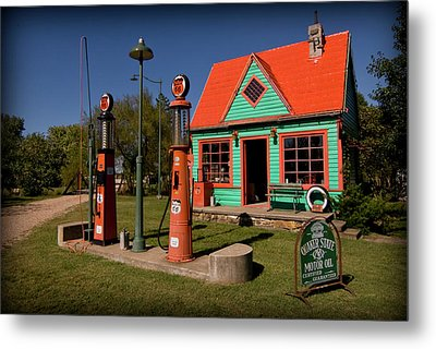 Fill 'er Up Metal Print by Patricia Montgomery