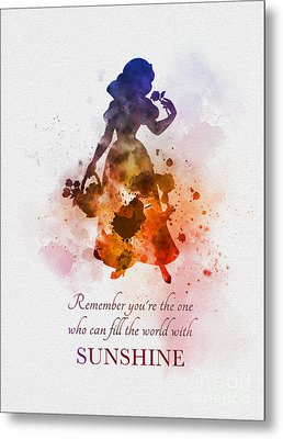Fill The World With Sunshine Metal Print