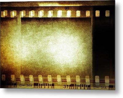 Filmstrip Metal Print by Les Cunliffe