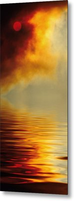 Filtered Sun Metal Print by Jerry McElroy
