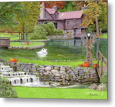 Fin N Feather At Seven Springs Metal Print