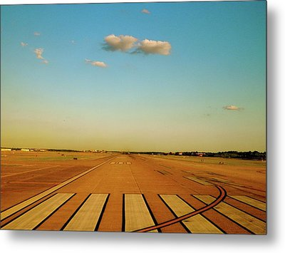 Final Approach Metal Print by Iconic Images Art Gallery David Pucciarelli