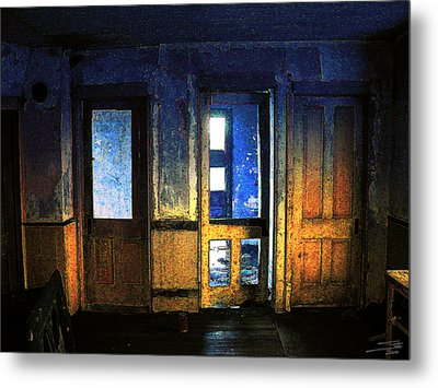 Metal Print featuring the digital art Final Days - Choices by Stuart Turnbull