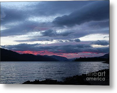 Final Touch Metal Print by Victor K
