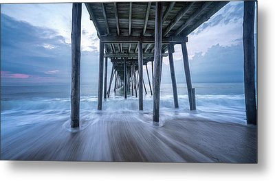 Metal Print featuring the photograph Finding Peace by Bernard Chen