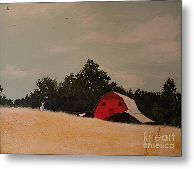 Fine August Day Metal Print by Carla Dabney