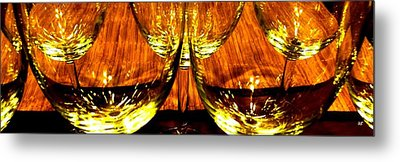Fine Wine And Dine 3 Metal Print by Will Borden