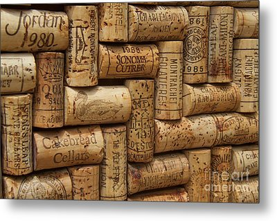 Fine Wine Metal Print by Anthony Jones