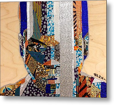 Finn Star Wars Awakens Afrofuturist  Metal Print by Apanaki Temitayo M