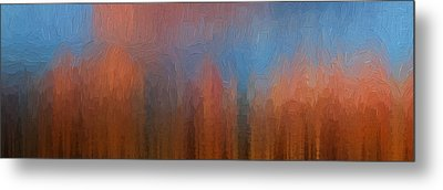 Metal Print featuring the photograph Fire And Ice by Ken Smith