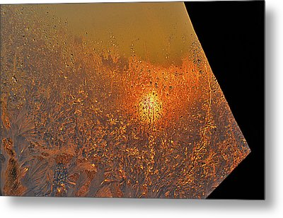 Metal Print featuring the photograph Fire And Ice by Susan Capuano