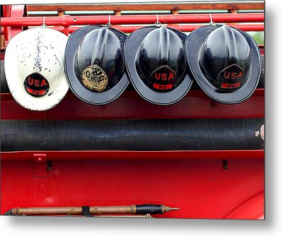 Fire Department Of The Usa Metal Print