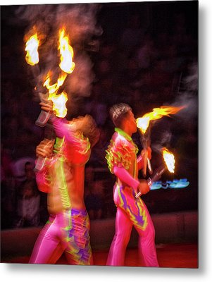 Fire Eaters Metal Print