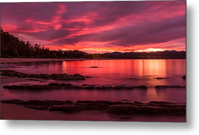Fire In The Sky Metal Print by Racheal  Christian