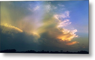Metal Print featuring the photograph Fire In The Sky by Rod Seel