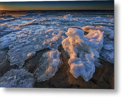 Fire Island Ice Metal Print by Rick Berk