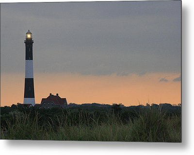 Fire Island Light Metal Print