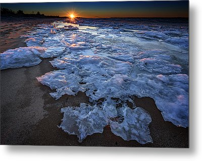Fire Island Winter Metal Print by Rick Berk