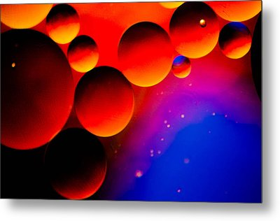 Fire Moons Metal Print by Bruce Pritchett