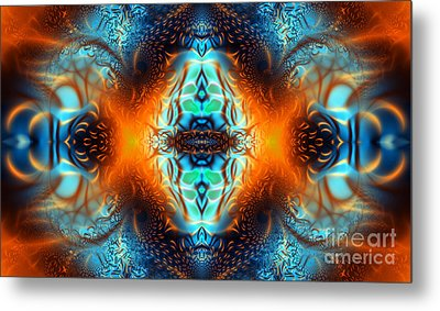 Fire Of Desire Metal Print by Ian Mitchell