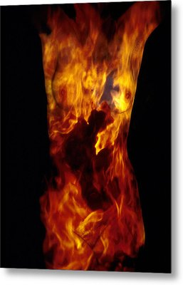 Fire One  Metal Print by Arla Patch